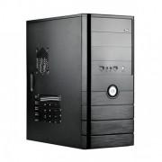 "CARCASA SPIRE ATX, front USB & audio, suport 2x 80mm fan, black, fara sursa ""SP1071B"""