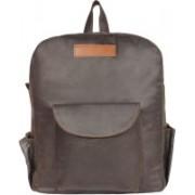 P&Y Fashion 14 inch Laptop Messenger Bag(Brown)