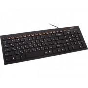 A4 TECH KX-100 X-Slim USB US crna tastatura