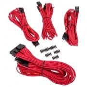 Set cabluri modulare Corsair Premium PSU Cable Starter Kit Type 4 Gen 3, cleme incluse, Red