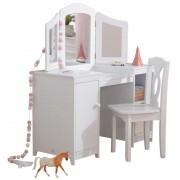 KidKraft Sminkbord Deluxe Vanity & Chair