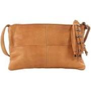 Pieces Väska Vita leather