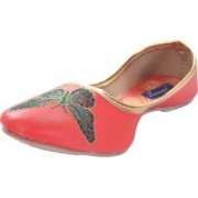 Tamanna butterfly Bellies For Women(Red)