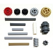 Lego Technic Gear Shifter Ring Kit (Axles And Gears) 15 Pieces