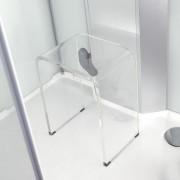 Thalassor Siège en acrylique pour la douche