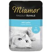 Miamor Cat Ragout losos v želé - kapsička 100 g