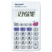 Kalkulator komercijalni 8mjesta Sharp EL-233S bijeli 000036063