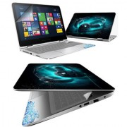 FineArts Headphone 4 in 1 Laptop Skin Pack with Screen Guard Key Protector and Palmrest Skin