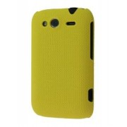 Micro Mesh Case for HTC Wildfire S - HTC Hard Case (Canary Yellow)