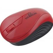 Mouse Esperanza Titanum Neon, Wireless (Rosu)