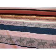 140 cm széles sötétkék színű szatén jellegű rugalmas textil