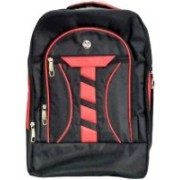 HP 17 inch Laptop Backpack(Red, Black)