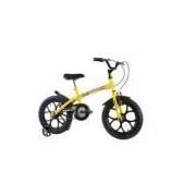 Bicicleta Dino Aro 16 Amarela Track Bikes