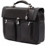 """Carry Case, Samsonite S-Teem-Briefcase 1 Gusset, 15.4"""", Brown (34U.03.001)"""