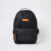 Superdry Mens Superdry Black Hollow Montana backpack (One Size)