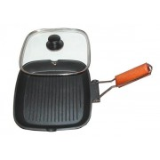 Tigaie grill cu capac Grunberg HXG2424LD