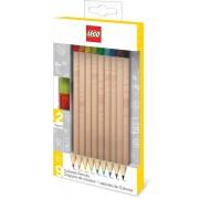 Lego - Bricks Colored Pencils 9-Pack