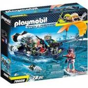 Комплект Playmobil 70006 - Екип акула лодка харпун, 2970006