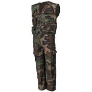 Kamizelka i spodnie moro z odpinanymi nogawkami dla dziecka