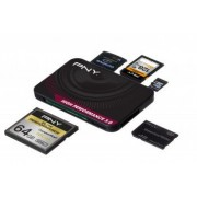 Card Reader All in One PNY High Performance 3.0 USB 3.0 negru