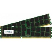 Kit Memorie Server Crucial ECC RDIMM 2x16GB DDR3 1866MHz CL13 1.5V Dual Rank x4