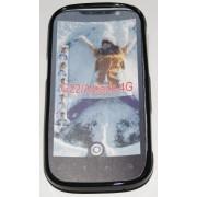 Силиконов гръб ТПУ за HTC Amaze 4G G22 Черен