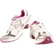 Puma Axis II Wn-s Ind Running Shoes For Women(White, Pink)