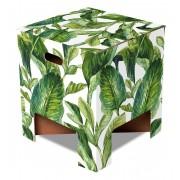 Dutch Design Brand Dutch Design Chair krukje Green Leaves
