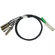 Juniper QSFP+ to SFP+ 10 Gigabit Ethernet Direct Attach Break out Copper (twinax copper cable) 1m