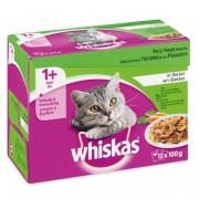 Whiskas Vlees Selectie in Saus 1+ Jaar 12 x 100 g