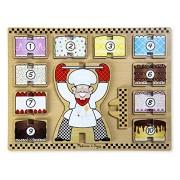 Melissa & Doug Stacking Chunky Puzzle - Cake Baker