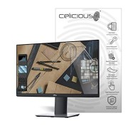 Celicious Matte Anti-Glare Screen Protector Film Compatible with Dell Monitor 23 P2319H [Pack of 2]