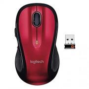 Logitech M510 Mouse Inalámbrico Rojo