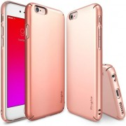 Husa telefon ringke Ringke Slim Case Apple iPhone 6 / 6S Plus Rose Gold