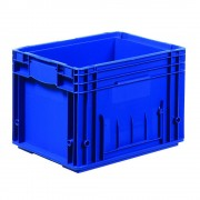 Behälter RL-KLT aus PP blau Inhalt 24,1 l, LxB 396 x 297 mm