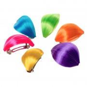 V&V Spona s vlasovým pramenem Reflex (žlutá barva) - V&V