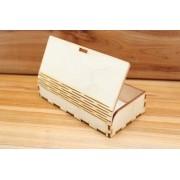 Cutie bijuterii din lemn 140 x 70 mm