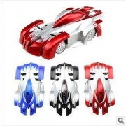 GOODNESS INTERNATIONAL Remote Control Zero Gravity Wall Climbing Car with USB Charging Cable and Light-Sound