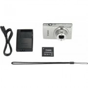 Canon Aparat CANON IXUS 190 Srebrny Essential Kit