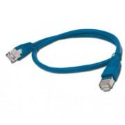 Cable CAT6 UTP moldeado 0 5m Azul