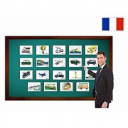 Fiches de vocabulaire - Transport - Transportation and Vehicle Flashcards in French