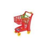 Carrinho Infantil para Supermercado Market (Vermelho) - Magic Toys
