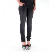 pantaloni donna (jeans) METAL MULISHA - Bambino Skinny - BLACK