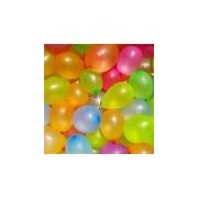 Merkloos 400x Gekleurde waterballonnen in zakje