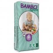 Bambo Fraldas Bambo Maxi Ecológicas T4 60 uds