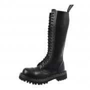 stivali in pelle unisex - STEADY´S - STE/20_black