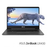 "Asus ZenBook UX430UA-DH74 computadora portátil Gris 35.6 cm (14"") 1920 x 1080 Pixeles 1.80 GHz 8 generación de procesadores Intel Core i7 i7-8550U Ordenador portátil (8 generación de procesadores Intel Core i7, 1.80 GHz, 35.6 cm (14""), 1920 x 1080 Pixeles"