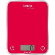 Кухненска везна, Tefal Optiss, up to 5kg, resolution 1g, function Tara, Ultra slim glass, Raspberry (BC5003V1)
