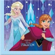 Disney 40x Frozen feestartikelen servetjes 33 x 33 cm papier