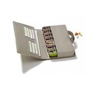 Smart caixa de medicação semanal cores sortidas - Pilbox